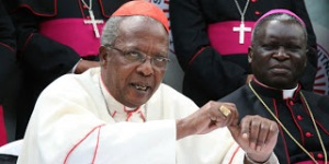 Cardinal Njue and Bishop Anyolo